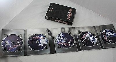 Shonen Jump Death Note Volume 1 DVD Lot Japanese Anime 5 Disc Box set