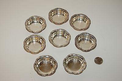 Formal Sterling Silver Ashtrays
