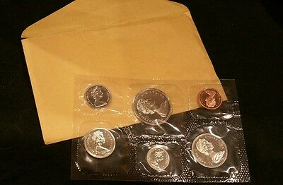 British Columbia 1871-1971 Centennial Coins CANADIAN 6 piece Proof-Like PL SET
