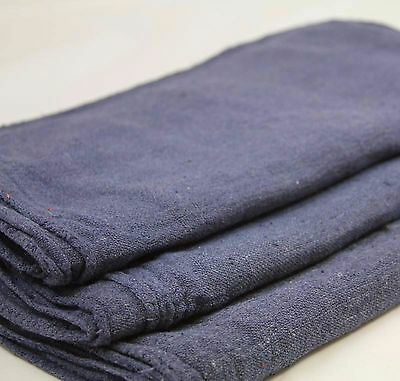 1000 Industrial Shop Rags / Cleaning Towels Blue