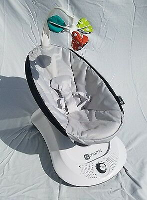 4moms rockaRoo Infant/Baby Swing (Classic Gray)