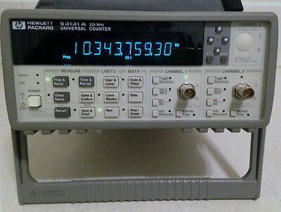 HP Agilent 53131A Frequency Counter/Timer