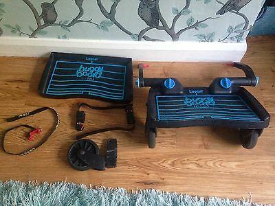 Lascal Buggy Board Mini With Uncut Adapters Strap And Spares BARGAIN
