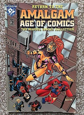 Return to the Amalgam Age of Comics: The Marvel Collection by Barbara Kesel, Ba…