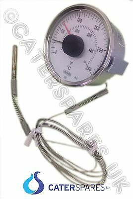 Commercial Chip & Fish Range Temperature Thermostat Clock Heat Control