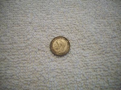 1935 Great Britain George V Silver 3 Pence