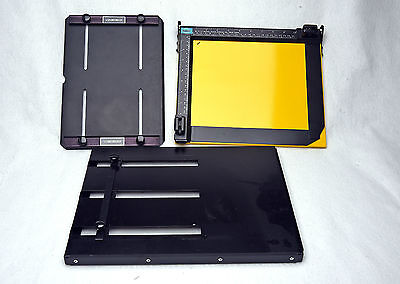 3 Metal Darkroom Easels 8x10 and 11x14 and Smaller