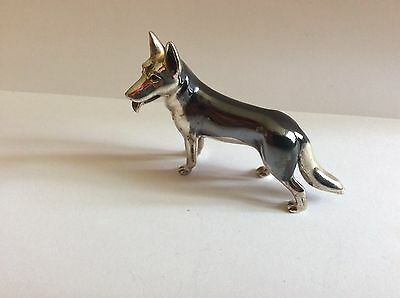 Solid Silver Large Dog