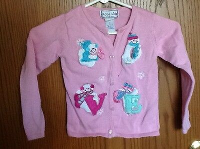 Cute Girl Cardigan by Kobe Kids Size 6X