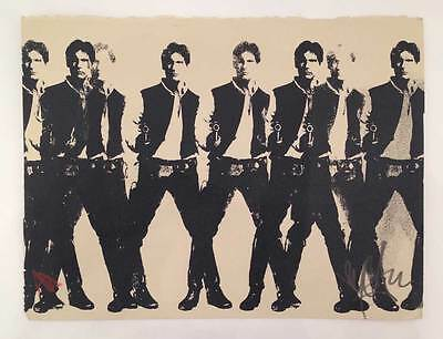 RYCA Han Solo Screen Un signed and Numbered Limited Edition Prints