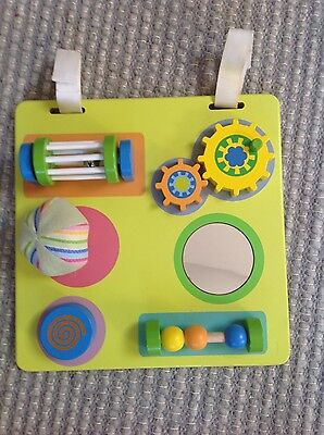 Baby sensory board activity toy for 12 months +