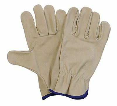 5 Safe Rite Leather Riggers Gloves Size Large  (Free Shipping Australia Wide)