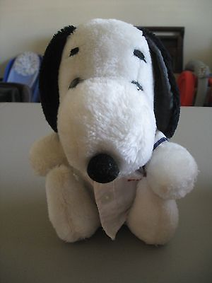 Vintage Plush Snoopy Peanuts Charlie Browns Dog with Clothing