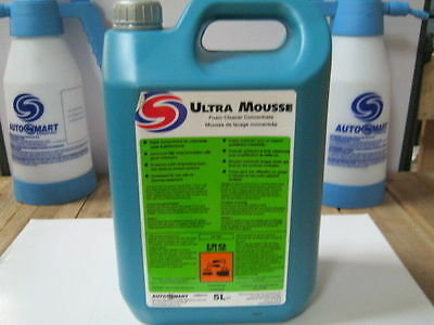 Autosmart ULTRA MOUSSE FOAM Car Valeting SNOW FOAM SHAMPOO 5 L FREE DELIVERY