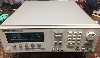Agilent 8168E Tunable Laser Source, Range: 1475 to 1575nm, OP 002 Angled Contact