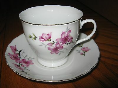 Vintage Made in China  Matching Cup and Saucer - No. 2