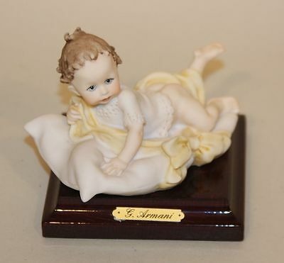 Armani Art Sculpture The Newcomer Magic Memories Collection Baby Pillow 1152F