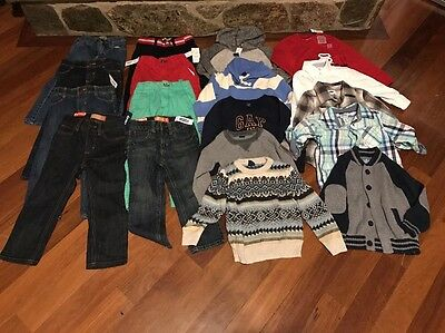 Huge Lot Of Boys Clothes(old Navy/baby Gap)-size 3t