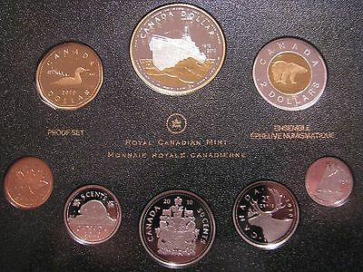 Canada 2010 Double Dollar 8 Coin Proof Set Comm.100th Ann. of the Canadian Navy