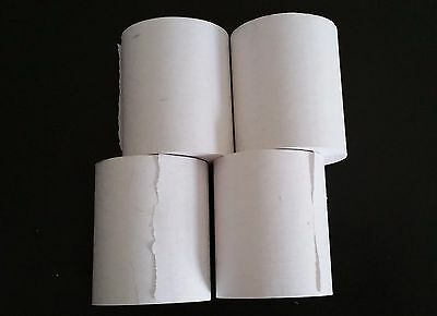 Credit Card machine Thermal paper rolls for First Data FD130- 4 rolls