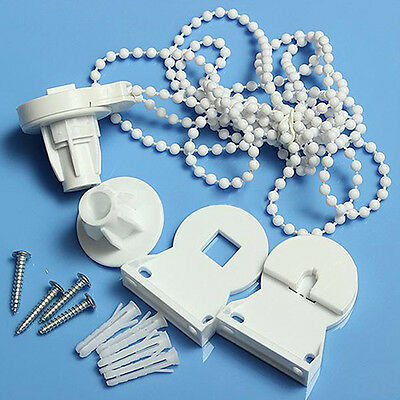 Roller Blind Shade Cluth Bracket Bead Chain Repair Parts Set for 25mm Tube Tidy