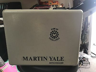 Martin Yale CV-7 Auto Paper Document Letter Folder In Good Working Condition