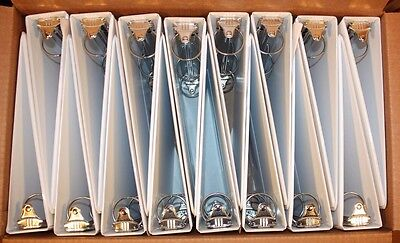 LOT OF 16 White 3 RING BINDERS -Pre Owned- All 1-1/2 inch