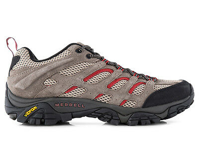 Merrell Men's Moab Ventilator Shoe - Grey/Rust