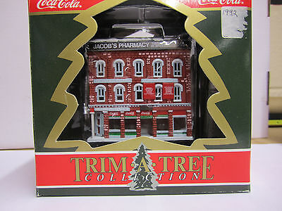 Trim-A-Tree Collection: Coca-Cola Jacob's Pharmacy 1992, New In the Box