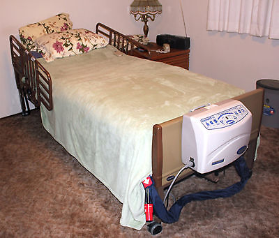 Electric Hospital Bed with MicroAIR 65 (Pressure with On-Demand Loe Air Loss)