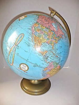 "Cram's Imperial World Gloibe 12"" Diameter Metal Base & Axis"