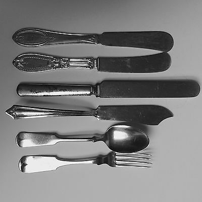 Mixed Lot of Silverware silverplate