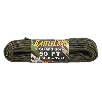 Atwood Rope Battle Cord 50Ft Woodland