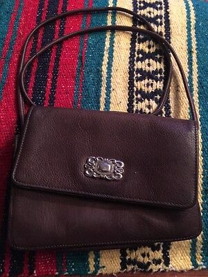 FOSSIL Brown Leather Crossbody/Wallet/Clutch/Organizer Bag Purse