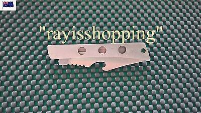 FOLDING SILVER KNIFE with BELT CLIP, Hiking Fishing Camping