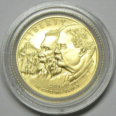 2016-W Gold $5 National Park Service Commemorative Uncirculated