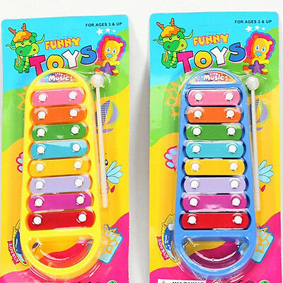 Child Kid Baby Musical Instrument 8-Note Xylophone Toy Wisdom Development