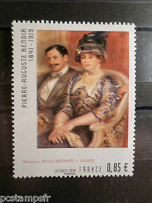 FRANCE 2009 timbre 4406, TABLEAU RENOIR, ART, PAINTING, neuf**, MNH STAMP