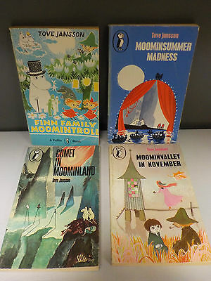 Tove Jansson - 'Moomin' Series (Puffin) - 4 Books Collection! (ID:45917)
