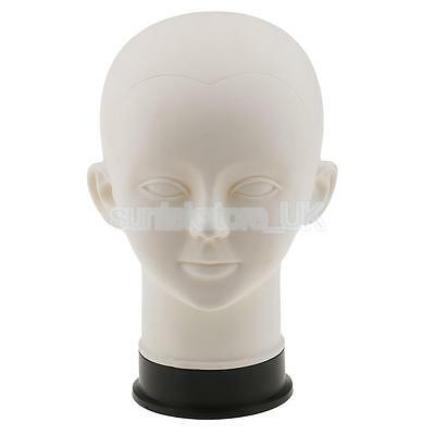 Cosmetology Mannequin Head Model Kids Child Scarf Hat Headset Display Stand