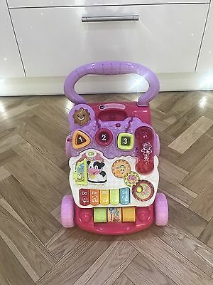 ��VTech First Steps��Baby Walker In Pink��Perfect Condition��Collection Only��