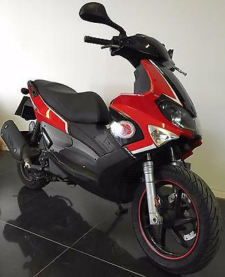 2010 60 Gilera Runner 125 St Learner Legal Scooter Project Trade Sale Cat C