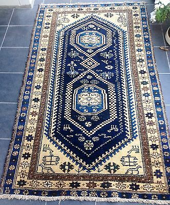 Persian Authentic Hand Knotted Old Rug