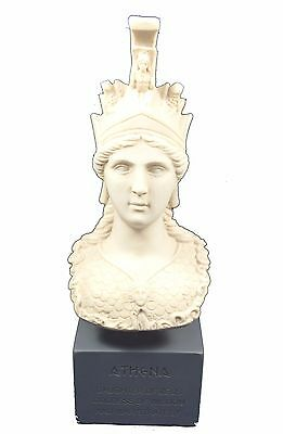 Athena sculpture statue Minerva ancient Greek Goddess bust