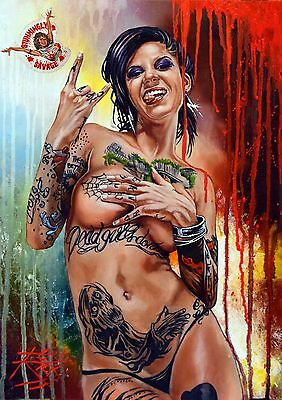 Bonnie Rotten 2 / Large Erotic Heavyweight Rick Melton Fine Art Archival Print