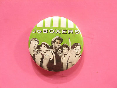 "Joboxers 1 1/2"" Vintage Button Badge Pin Uk Made British New Wave  Buzz Flyers"