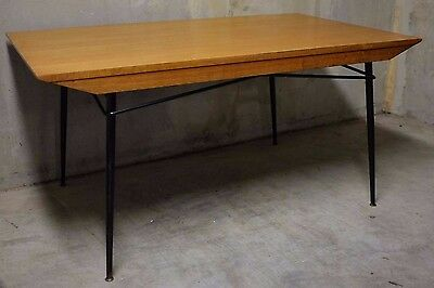 Table Guariche 1950 Chêne Vintage Design Paulin Eames