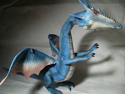 2015 NEW Large size Latex Toy Dragon Blue
