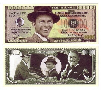 One Million Dollars Franck Sinatra