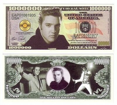 One Million Dollars Elvis Presley